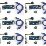 6 pack blue version 7 pcie powered riser