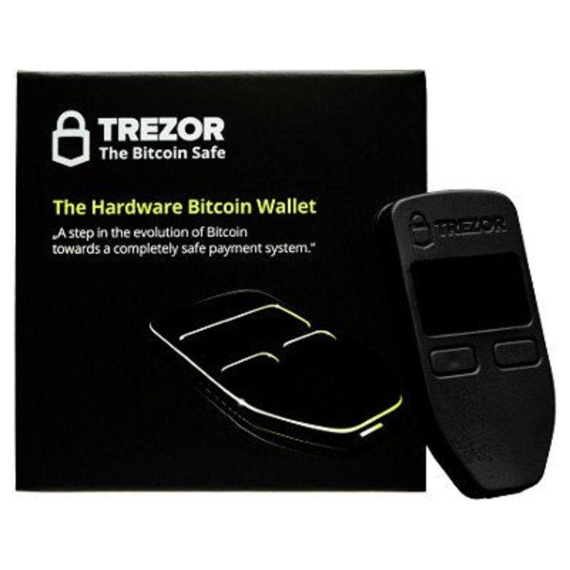 TREZOR Bitcoin Hardware Wallet Black